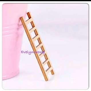 🚚 ☘️Terrarium Accessories / Miniature / scrapbooking, gardening deco, photo frame deco, home deco, figurine etc - Raft / Arch Bridge / Bridge Stair / Stone Steps Bend / Straight / Grey / Brown / Beige / Wooden step ladder etc