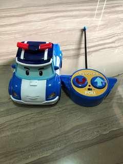 Authentic Robocar Poli Remote Control Car