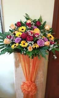 Congratulatory flowers - fresh flowers