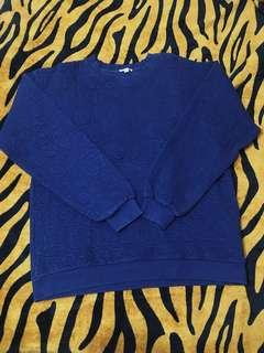 Navy Blue Crewneck Sweater Fits M-L