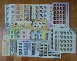 郵票(28.25.15.12.10.5.3.5元)滿1500元打9折