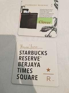 Starbucks Reserve 2019 Coaster set