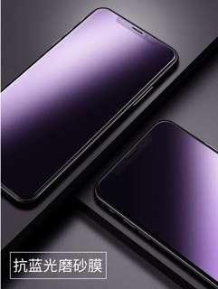 iPhone XS Max Screen Protector Matte A.Blue-Ray No Glare 3D