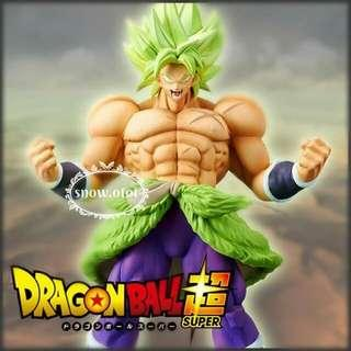 日版龍珠超布洛尼模型☆日本直送 Banpresto/Dragon Ball Super/Gokou/Broly/Figure/布羅利/撒亞人神/現貨