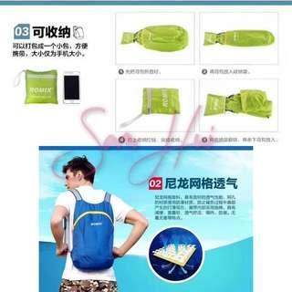 ROMIX RH30 Portable Storage Backpack Travel Backpack Picnic Camping Bag 16L Outdoor Backpack Foldable Bag