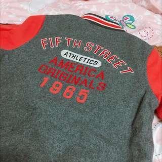 Edwin 5th STREET 羊毛棒球外套