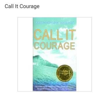 🚚 Call it courage