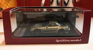 Ignition model 1/64 Rocket Bunny RX-7 green 綠色 IG日本限定