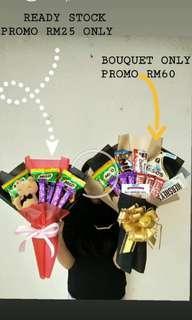 Promo chocolate bouquet