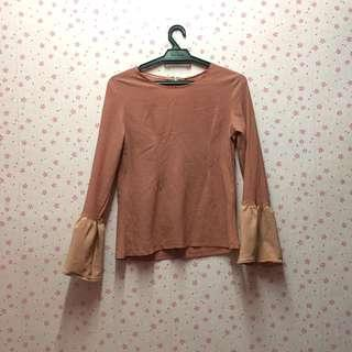 Nude Blouse bell #MFEB20