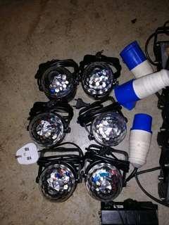 🚚 LED Disco light $12/each