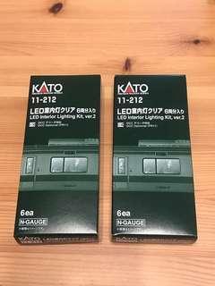 全新Kato 11-212 車廂燈兩盒