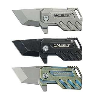 (In-stock) Manker Elfin EDC Knife Folding Knife_Titanium Handle_M390 Blade