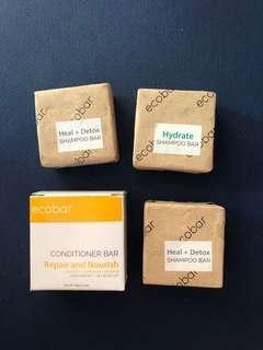 Shampoo and Conditioner Bars