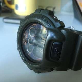 Casio G-SHOCK 太陽能錶板 墨綠色