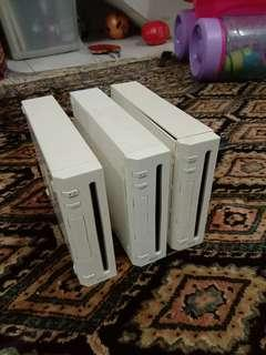 Wii Console Lot (faulty:error-003)