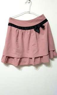 🚚 [售/換] MAYUKI 甜美粉色短裙