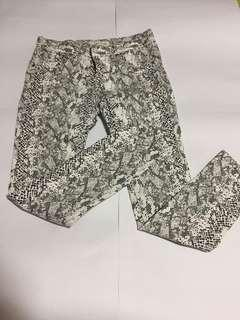 🚚 蛇紋褲