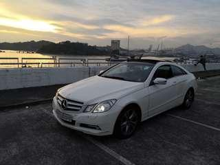 MERCEDES-BENZ E350 COUPE 2009
