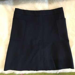 🚚 TCL navy blue skirt