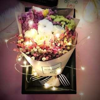 """""""OUT OF STOCKS"""" Premium Bouquet 💐 Preserved flowers / soap rose 🌹 ready stocks !"""