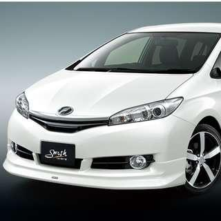 2016 Toyota Wish for Rent / Lease