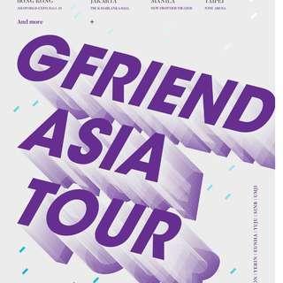 GFRIEND ASIA TOUR TICKETING SERVICE