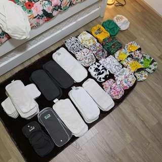 🚚 Cloth Diaper Bundle to Clear for Space
