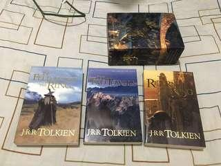 Lord of the Rings Boxed Set by J.R.R. Tolkien