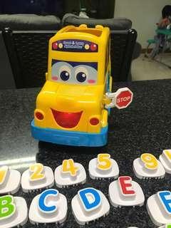 Count & Learn Alphabet Bus