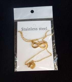 (NEW) Stainless Steel Necklace