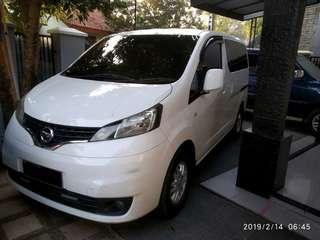 Nissan Evalia XV AT 2013 jual cepat BU