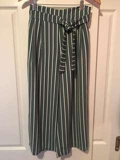 Zara Stripe coulotte