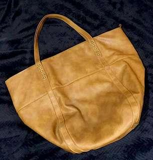 Mendrez Brown Tote Bag