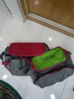 FoodPanda Halal & Non Halal delivery thermal bag