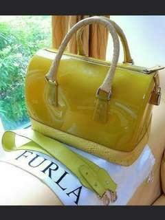 Furla Candy Yellow Handbag Ladies