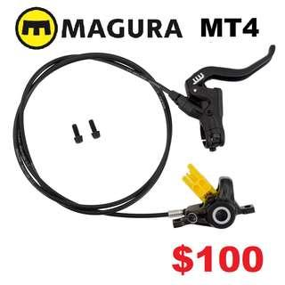 Magura MT4 Hydraulic Disc Brake(One Side Only)--------------------(MT2 MT4 MT5 M5e MT6 MT7 MT8 MT 1893 MT Trail SPORT CARBON M9120 M8020 M8000 M7000 M315 TITANIUM NUT SCREW BOLT)