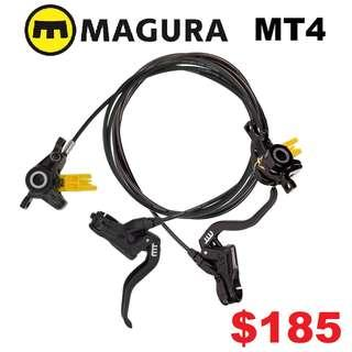 Magura MT4 Hydraulic Disc Brake (Pair)--------------------(MT2 MT4 MT5 M5e MT6 MT7 MT8 MT 1893 MT Trail SPORT CARBON M9120 M8020 M8000 M7000 M315 TITANIUM NUT SCREW BOLT)