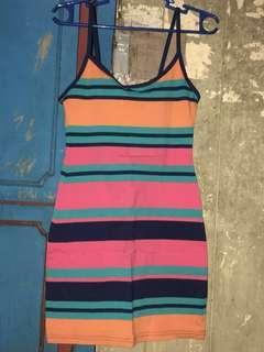 Jersey knit bodycon dress