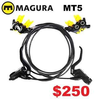 Magura MT5 4-Piston Hydraulic Disc Brake--------------------(MT2 MT4 MT5 M5e MT6 MT7 MT8 MT 1893 MT Trail SPORT CARBON M9120 M8020 M8000 M7000 M315 TITANIUM NUT SCREW BOLT)