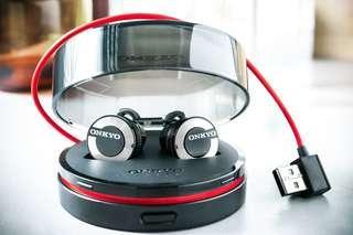 香港行貨 Onkyo W800BT 真藍牙耳機
