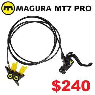 MAGURA MT7 PRO HC 2019 Disc Brake One Side Only--------------------(MT2 MT4 MT5 M5e MT6 MT7 MT8 MT 1893 MT Trail SPORT CARBON M9120 M8020 M8000 M7000 M315 TITANIUM NUT SCREW BOLT)