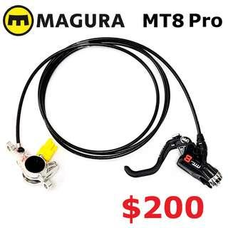 MAGURA MT8 Pro 2019 Disc Brake One Side Only--------------------(MT2 MT4 MT5 M5e MT6 MT7 MT8 MT 1893 MT Trail SPORT CARBON M9120 M8020 M8000 M7000 M315 TITANIUM NUT SCREW BOLT)