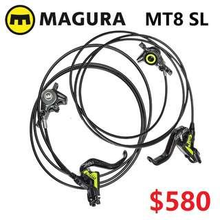 Magura MT8 SL 2019 Carbon Carbotecture Disc Brake --------------------(MT2 MT4 MT5 M5e MT6 MT7 MT8 MT 1893 MT Trail SPORT CARBON M9120 M8020 M8000 M7000 M315 TITANIUM NUT SCREW BOLT)