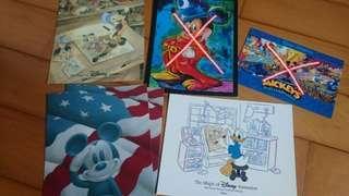 Disney world postcard 迪士尼