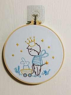 🚚 Little Price Embroidery Wall art