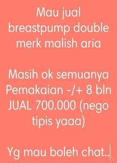 Preloved breastpump malish aria