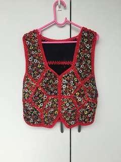 Free Give Away - Girl's Handmade Vest