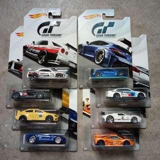 Hot Wheels Lot 2 (Gran Turismo)