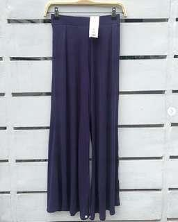 Uniqlo jersey flare pants